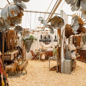 Marburger Farm Antique Show in Round Top, Texas