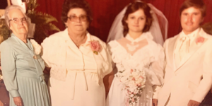 Nellie Fuller Dorothy Mae Gregory Randy Renell Moore Wedding