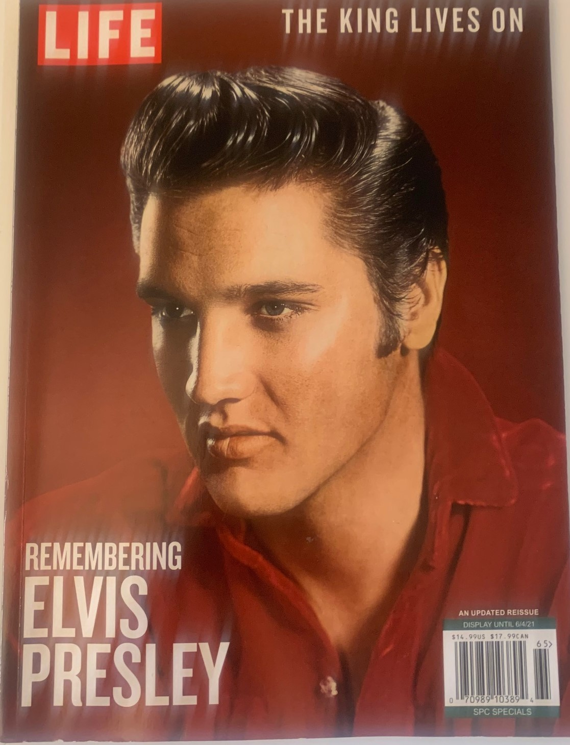 Elvis Presley-Life Magazine May 2021 Cover