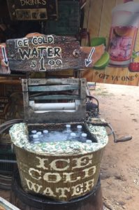 Whipp Farm Antique Show Ice Cold Water Wringer Washer Upcycle Whipp Farm Old West Soda