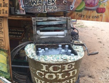 Ice Cold Water Wringer Washer Upcycle Whipp Farm Old West Soda Square